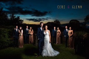 Ruthin Castle Wedding - Bridal Party