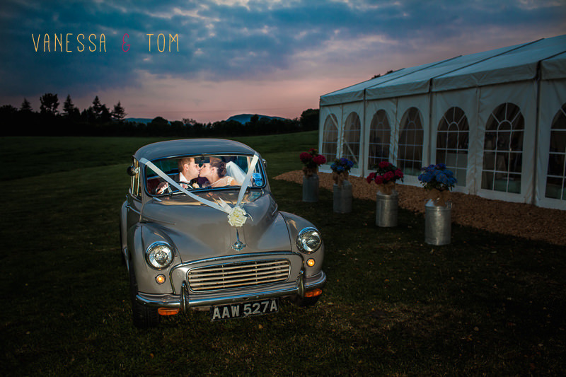Morris 1000 Wedding Photo