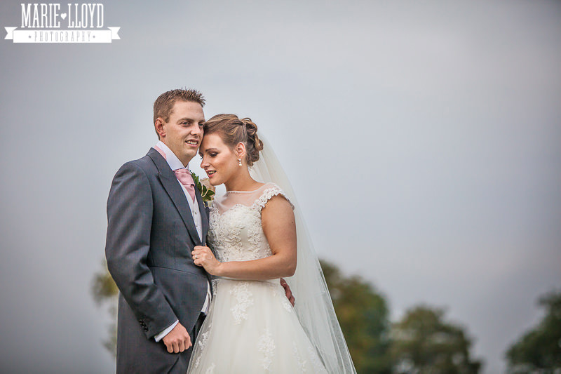 Marquee wedding in the Shropshire countryside