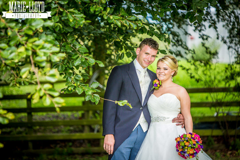 Plas Isaf gardens in a summer 2014 wedding
