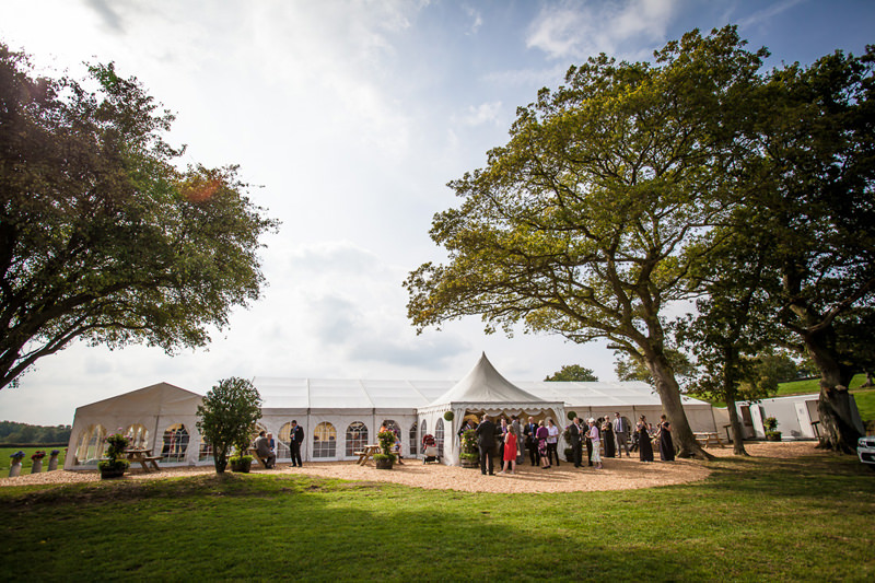 Marquee wedding in Shropshire