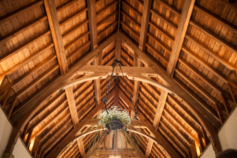 St Tecwyns Church oak roof