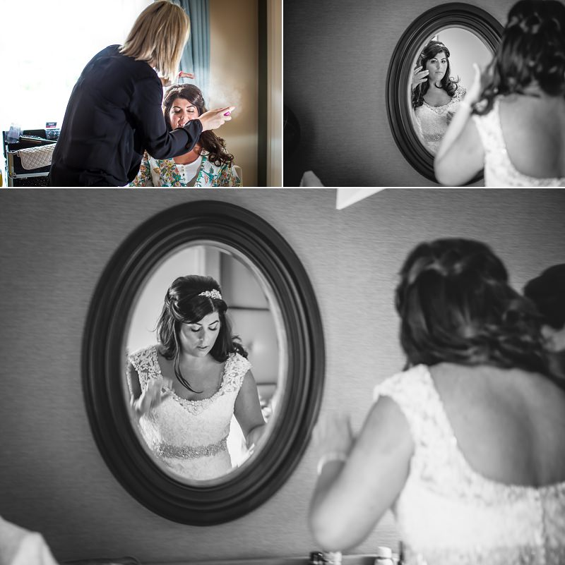 Bridal prep at Carden Park