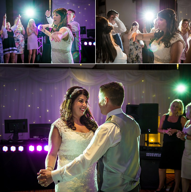 Emma and Aled first dance