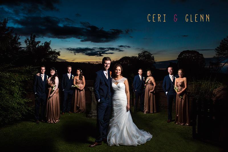 Ruthin Castle Wedding - Bridal Party