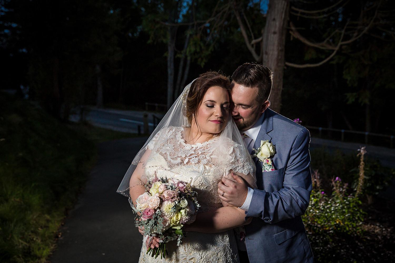Wedding photography at Bodnant Welsh Food