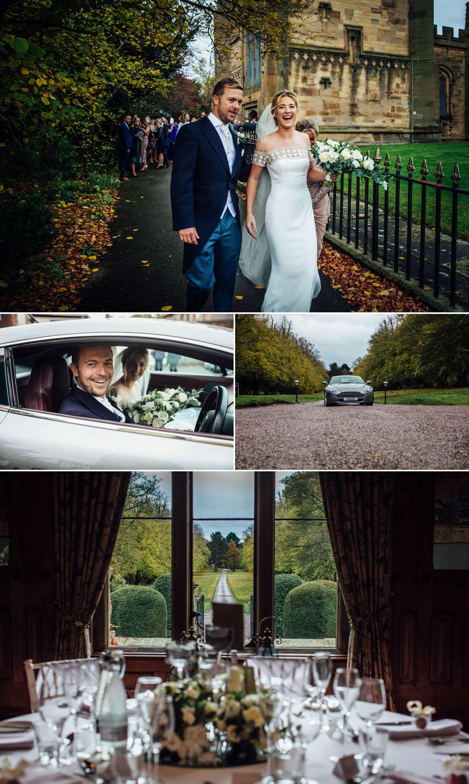 Wedding photography at Northop church