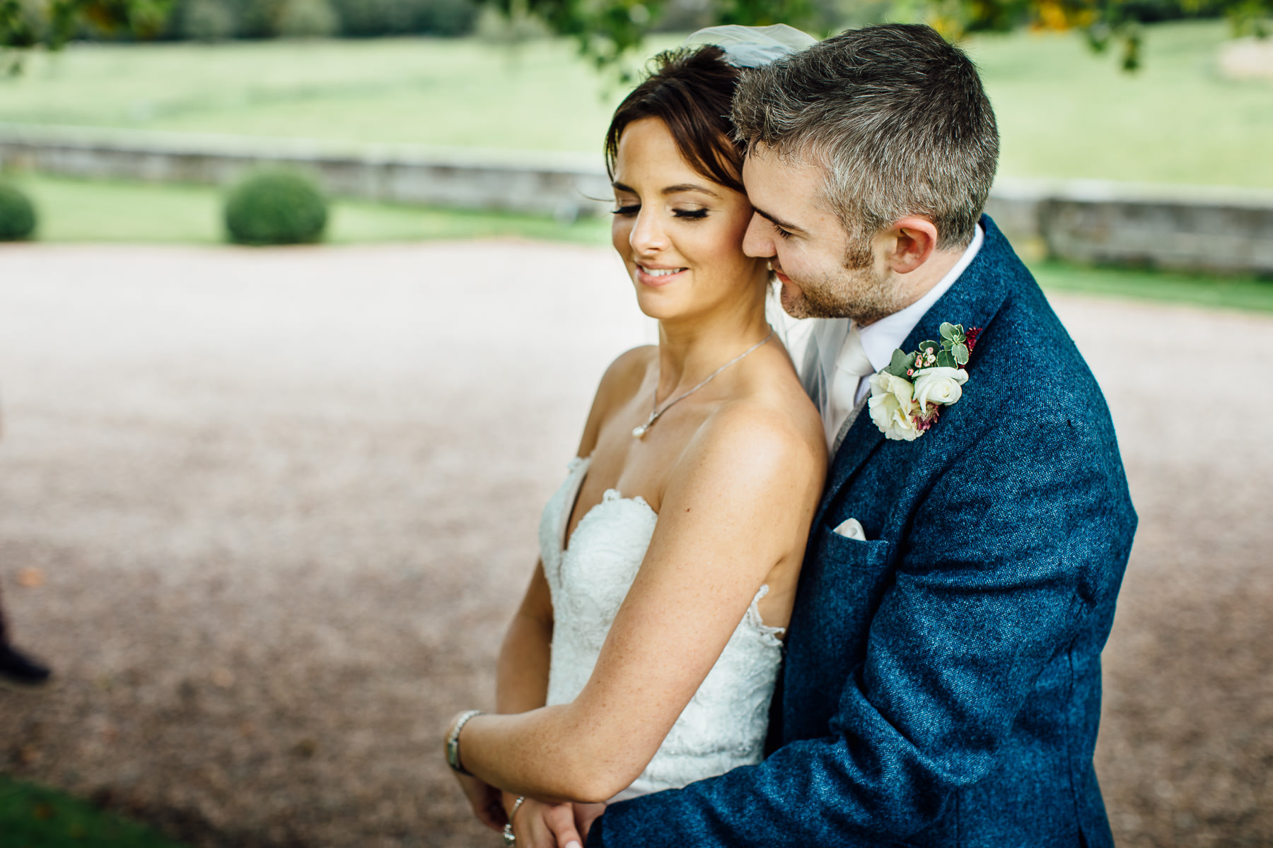 Wedding photography at Iscoyd Park