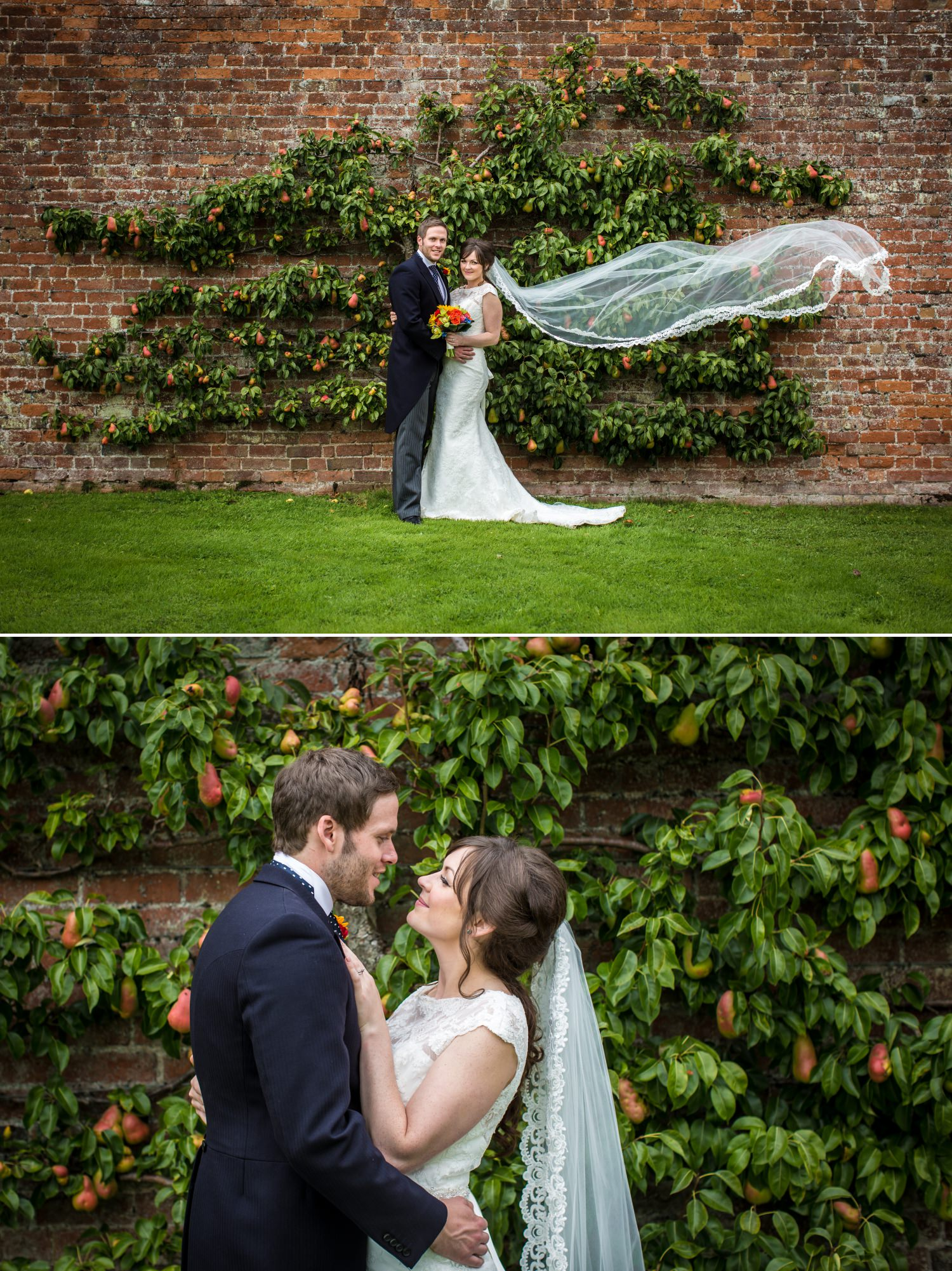 Wedding photography portraits at Cheshire venue Combermere Abbey