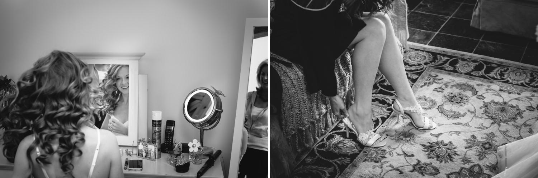 black and white wedding photography Hundred House Hotel