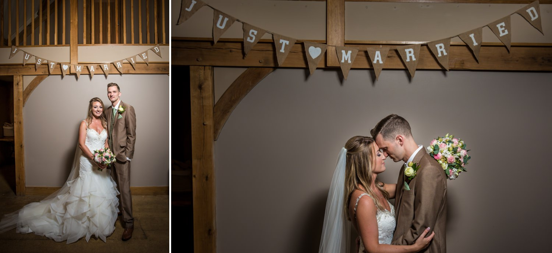Wedding photography at Tower Hill Barns bridal portraits, North Wales