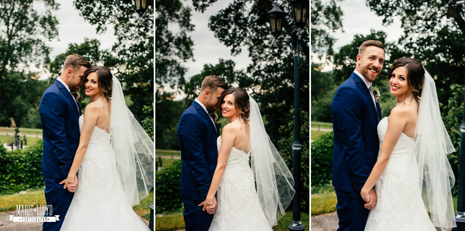 Wedding Photography couple portraits at Plas Isaf, North Wales