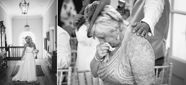 Wedding Photography of Bride at Iscoyd Park