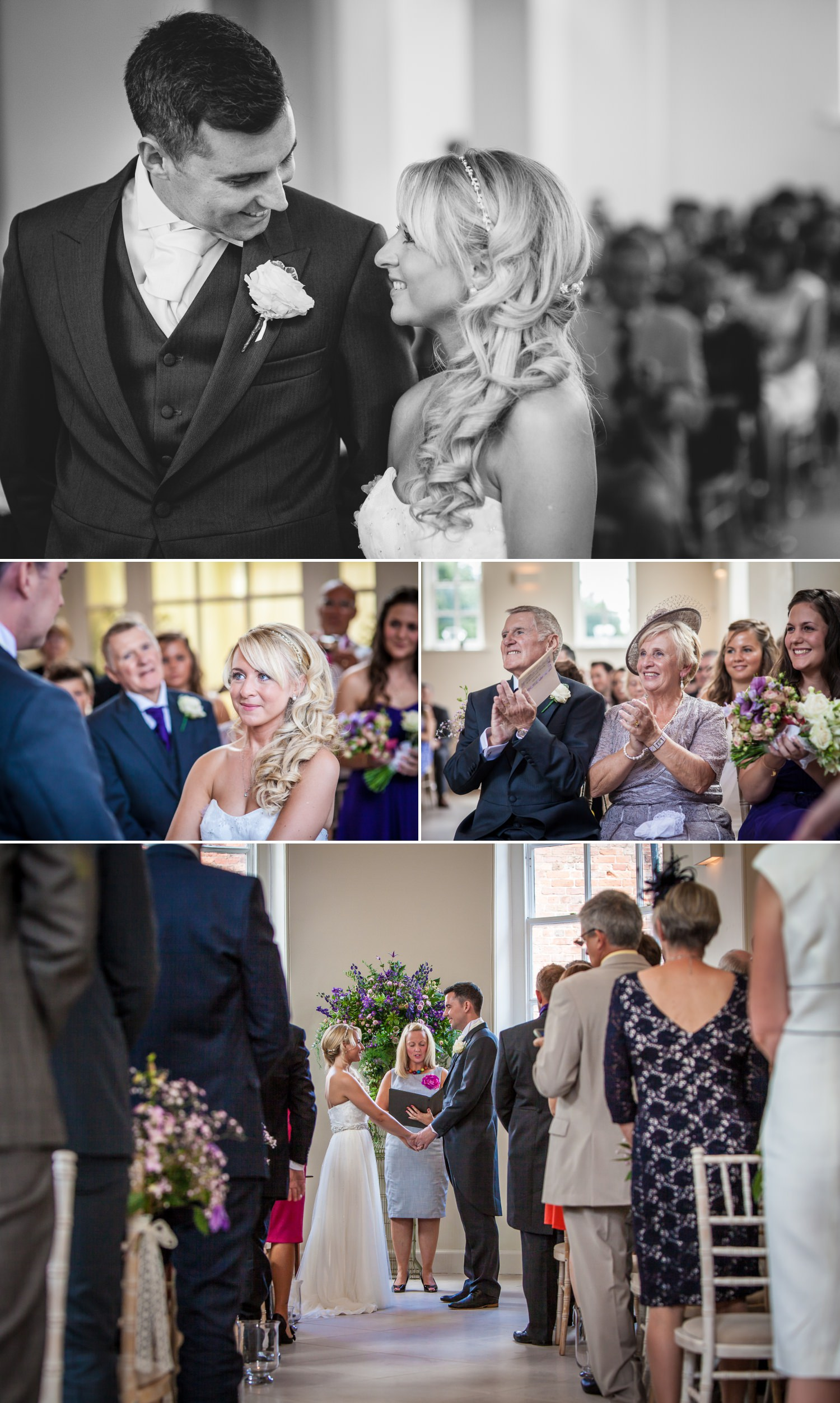 Wedding Photography of couple getting married at Iscoyd Park