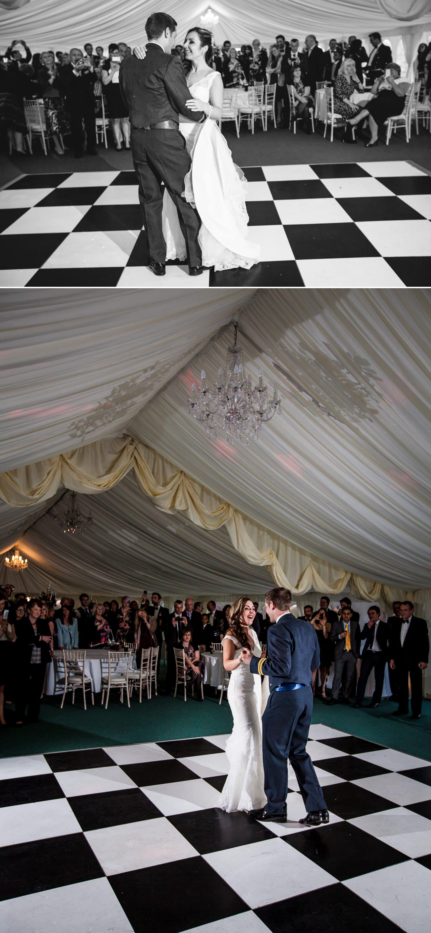 Weding Photography of first dance at Netley Hall, Shropshire