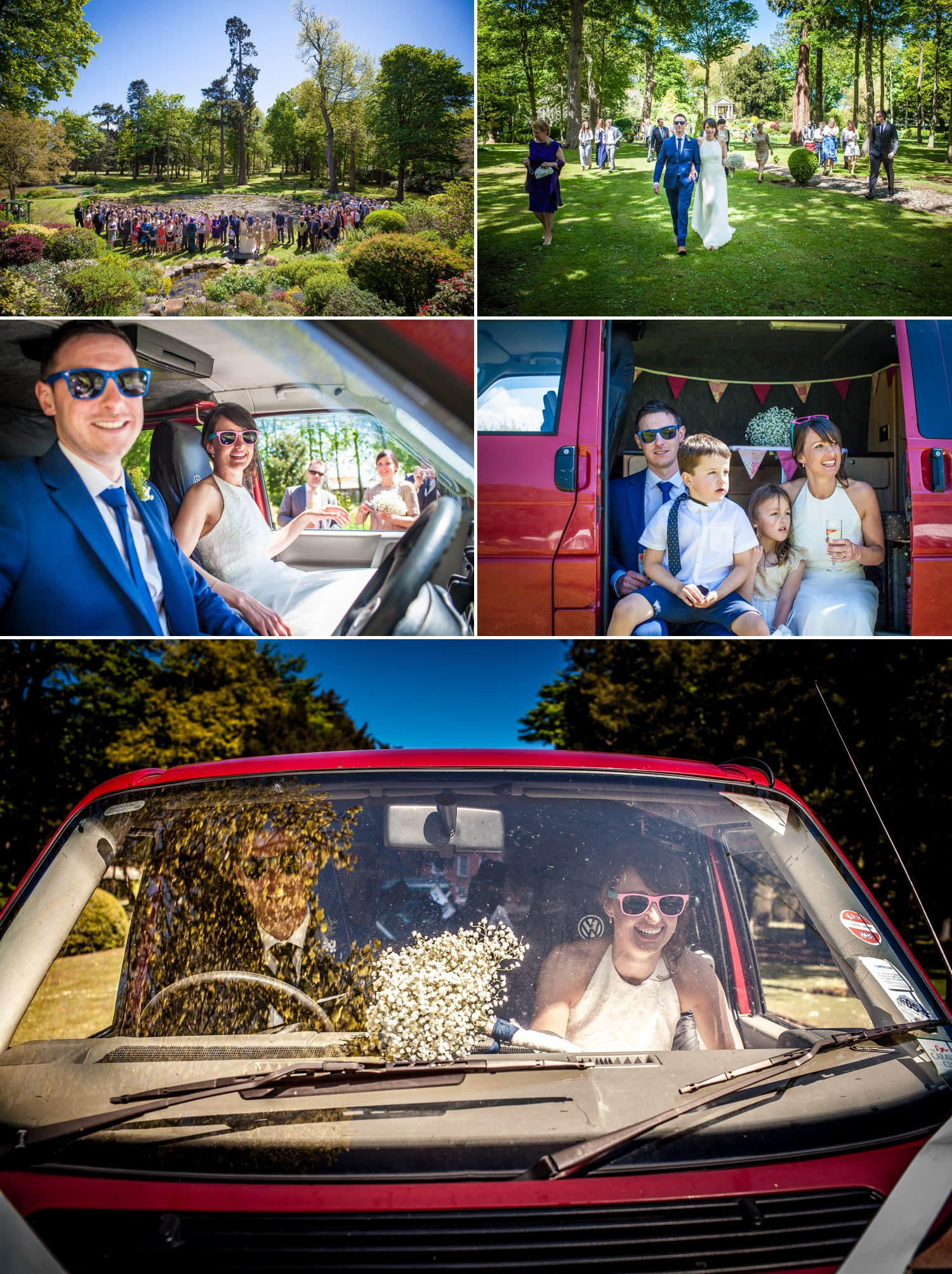 wedding photography of the ceremony in Bodrhyddan Hall north wales