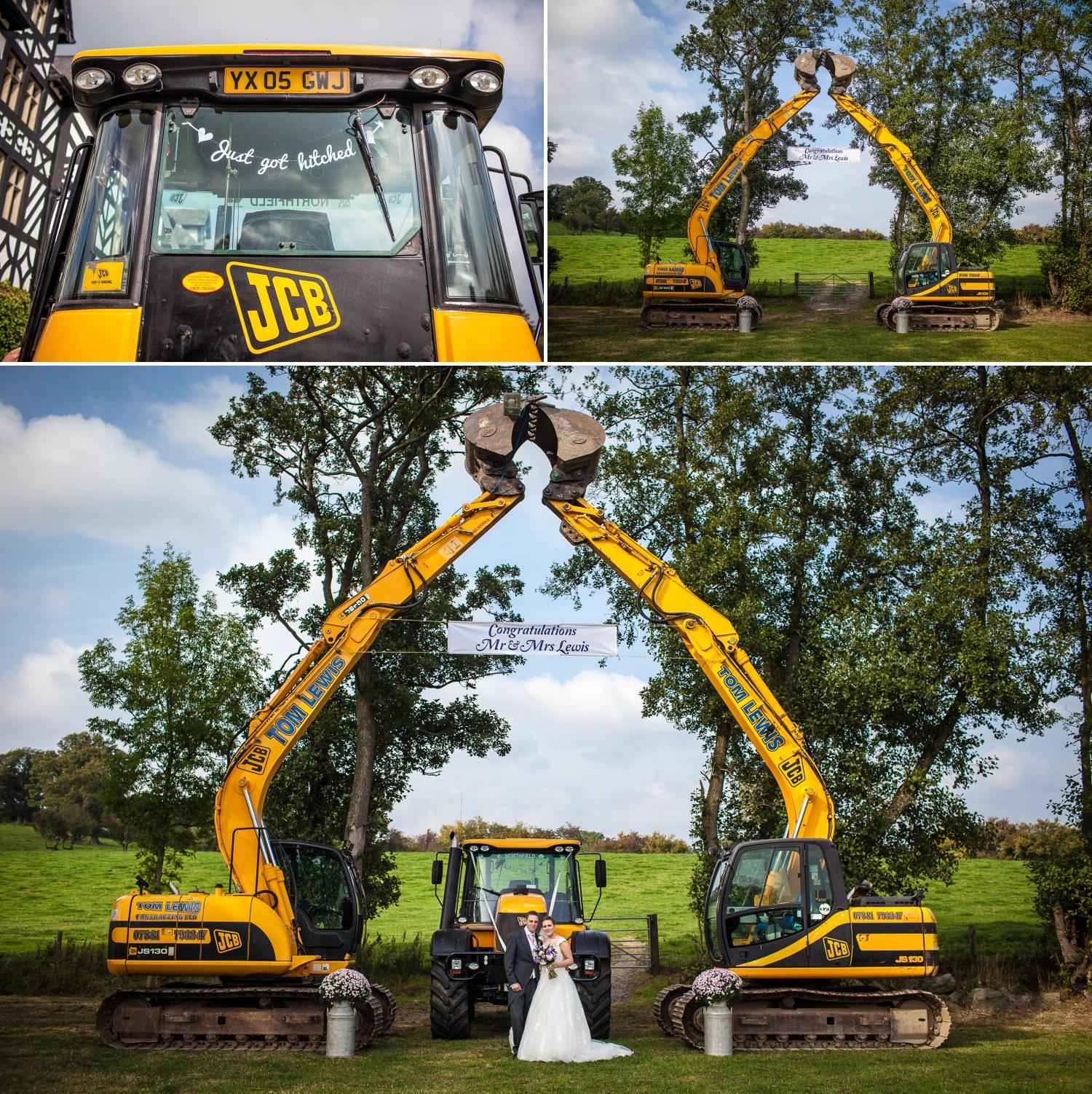 Wedding Photography Wales wedding diggers