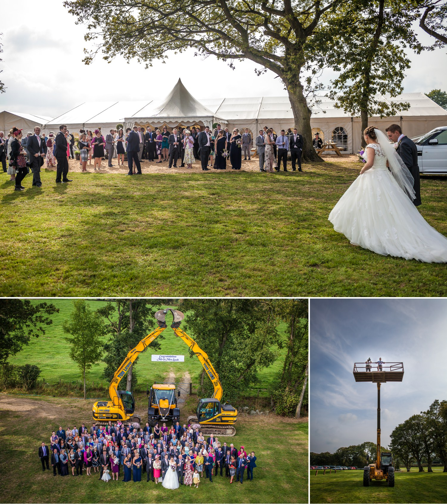 Wedding Photography Wales group shot