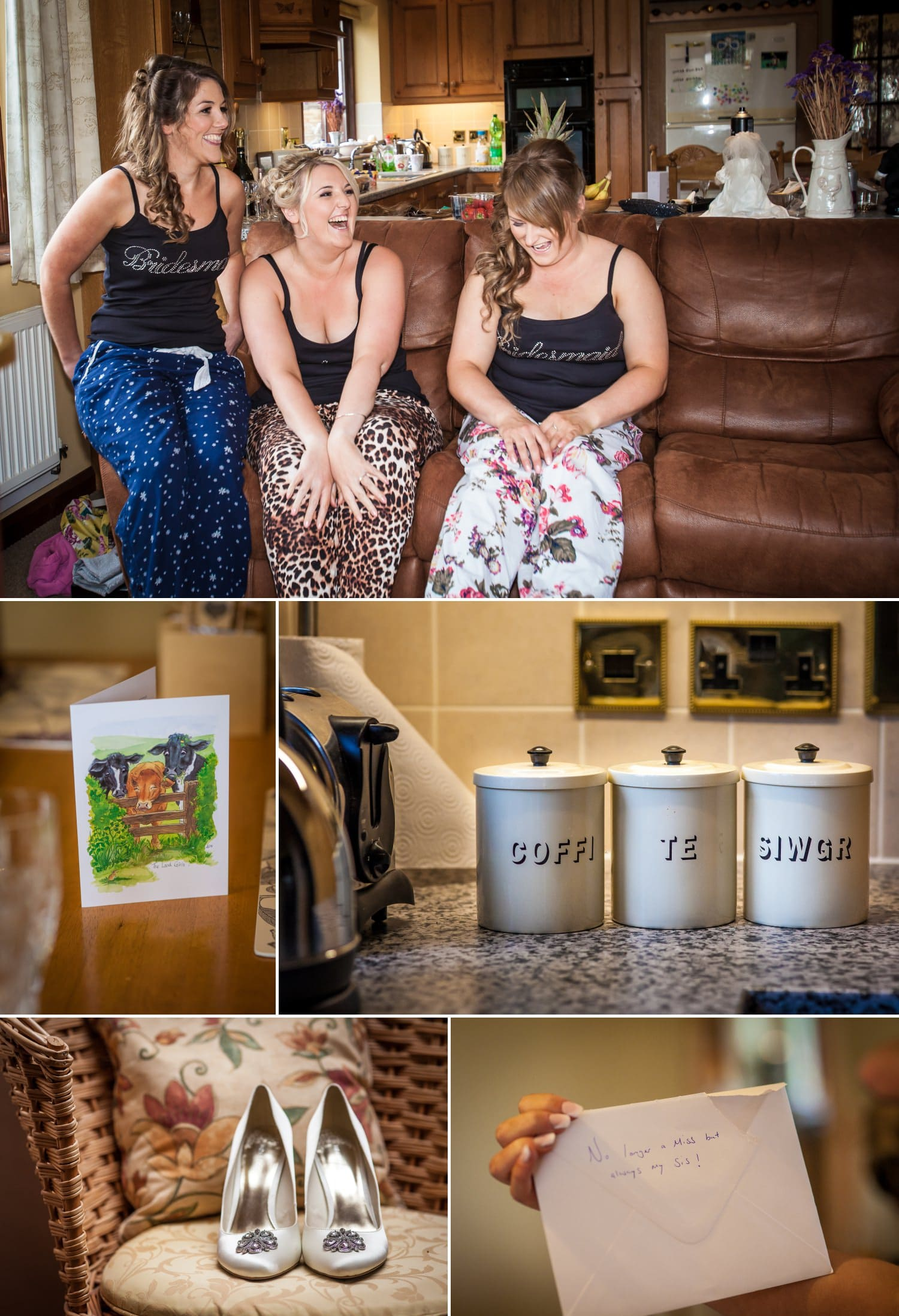 Wedding Photography Wales, bridesmaids getting ready