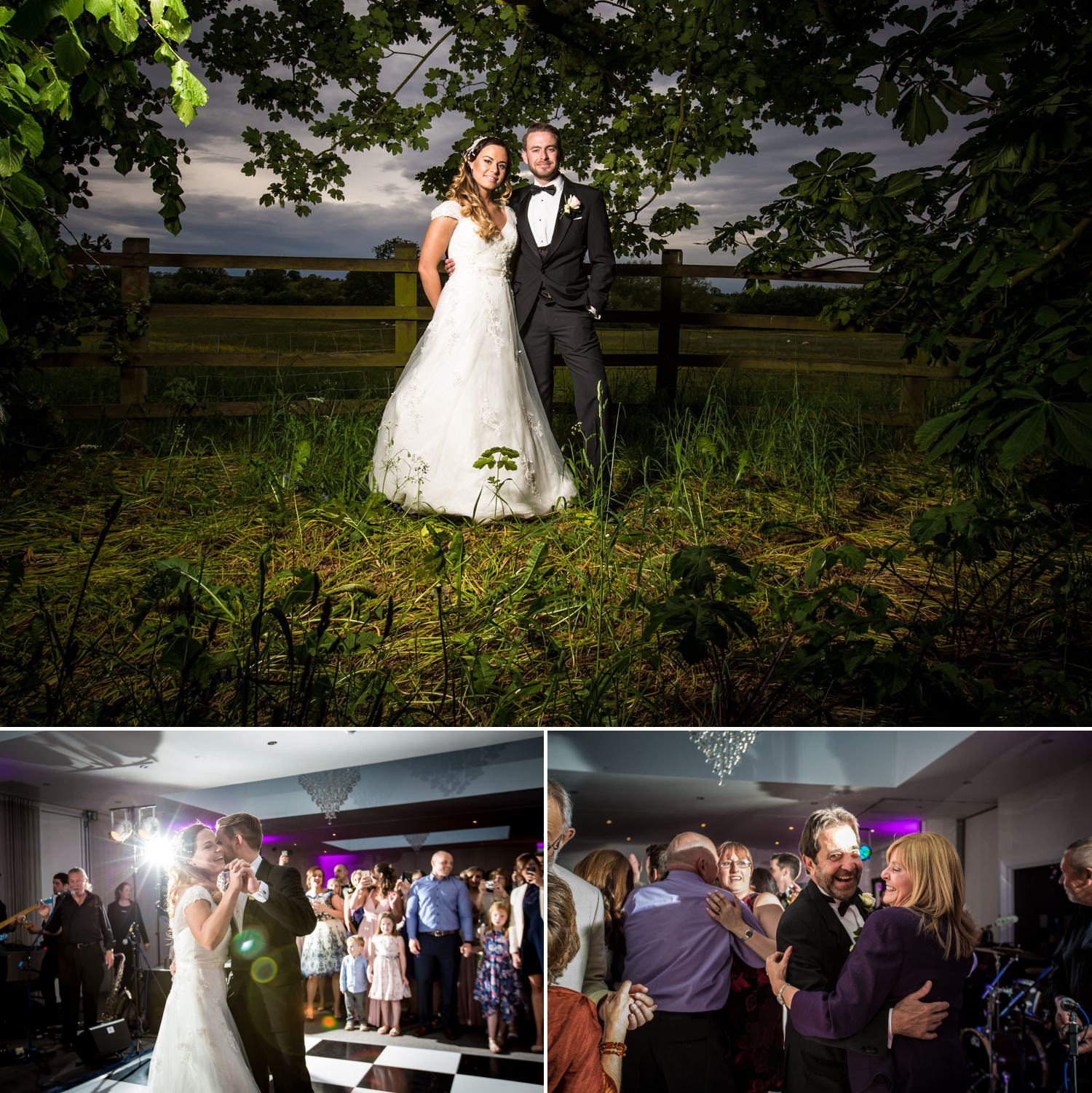 Wedding Photography Shropshire, couple portraits and first dance