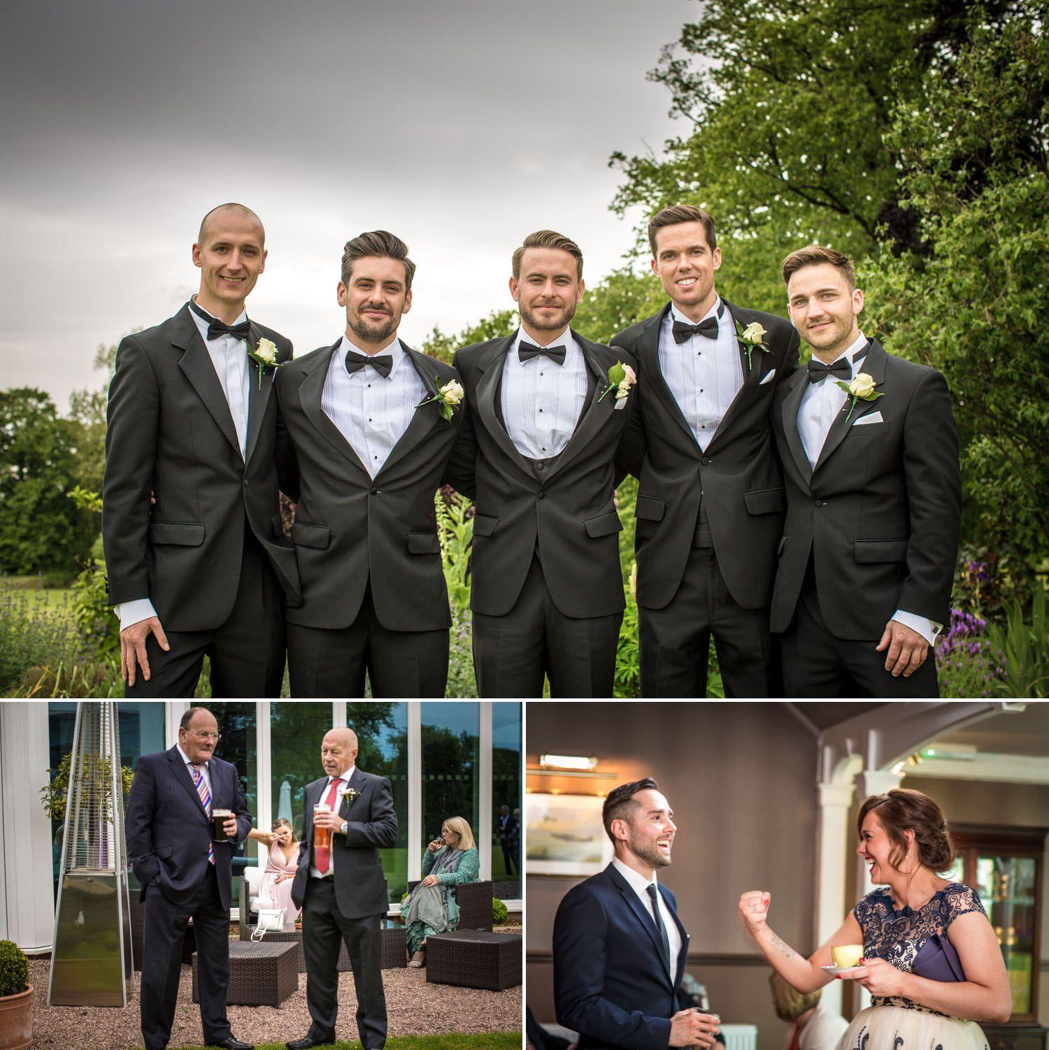 Wedding Photography Shropshire, grooms shots